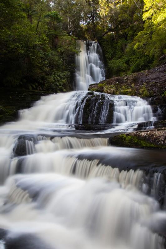 Mc Lean Falls in den Catlins