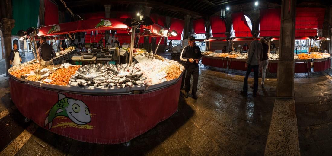 Markt auf dem Campo della Pescaria