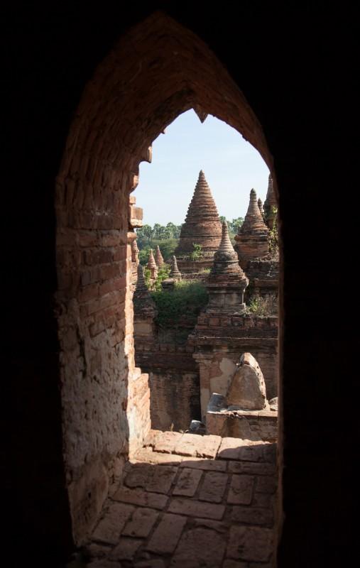 In vielen Tempeln gibt es eine versteckte Treppe in die zweite E