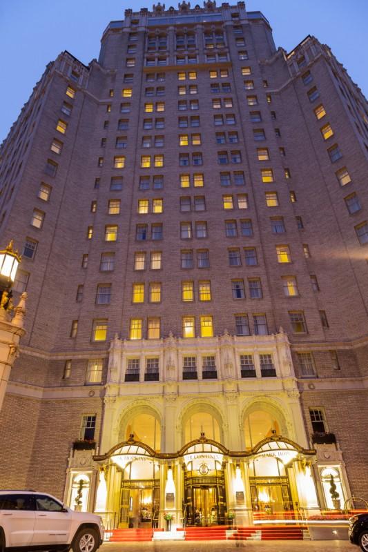 Das Hotel Intercontinental