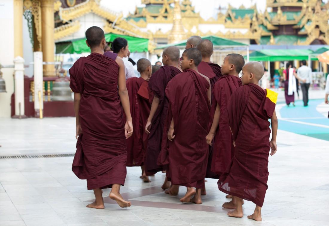 Mönch Reisegruppe