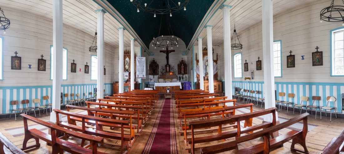 Kirche in Cochamo