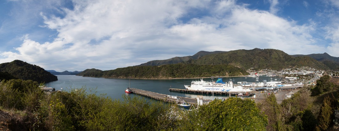 Fährhafen in Picton