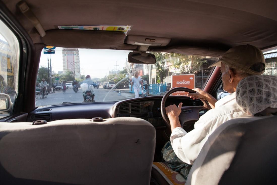 Unser Fahrer Mohammed