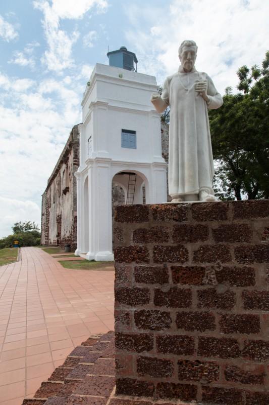 Missionar Franz Xaver an der St. Pauls Church