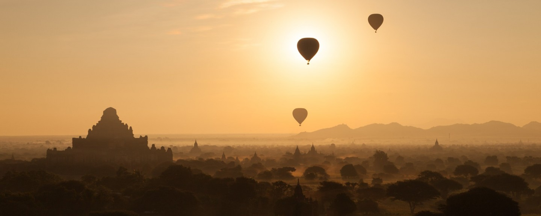 Baloons over Bagan
