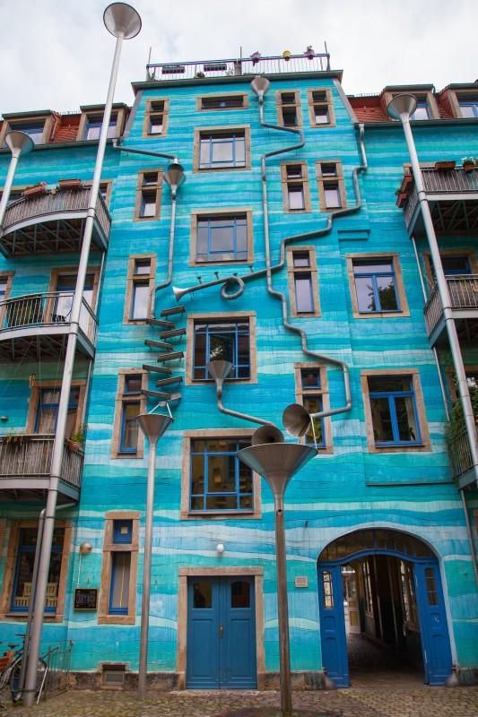 Kunsthof Passage Dresden - Hof der Elemente