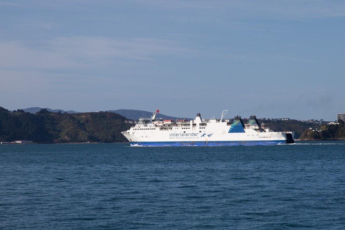 Der Interislander bringt uns über die Cook Strait nach Picton