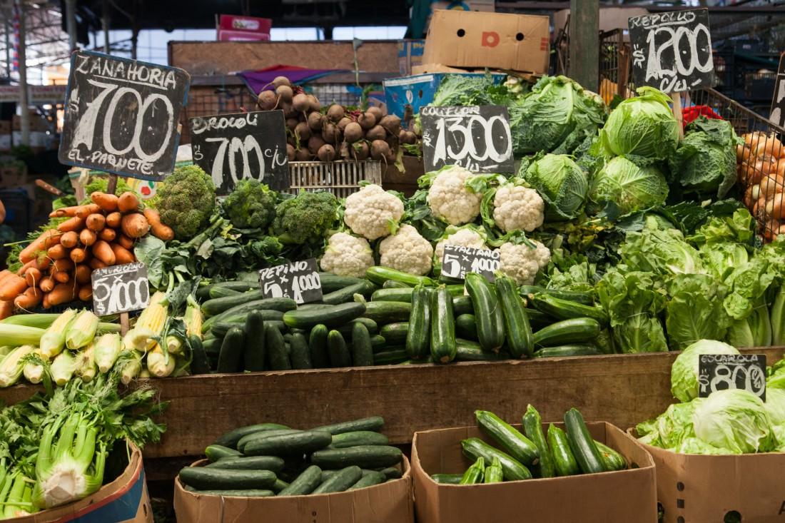 Der La Vega Central ist ein riesiger Markt für einheimische.