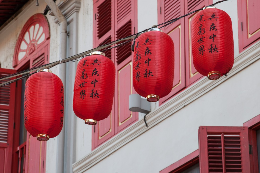 Lampions in Chinatown