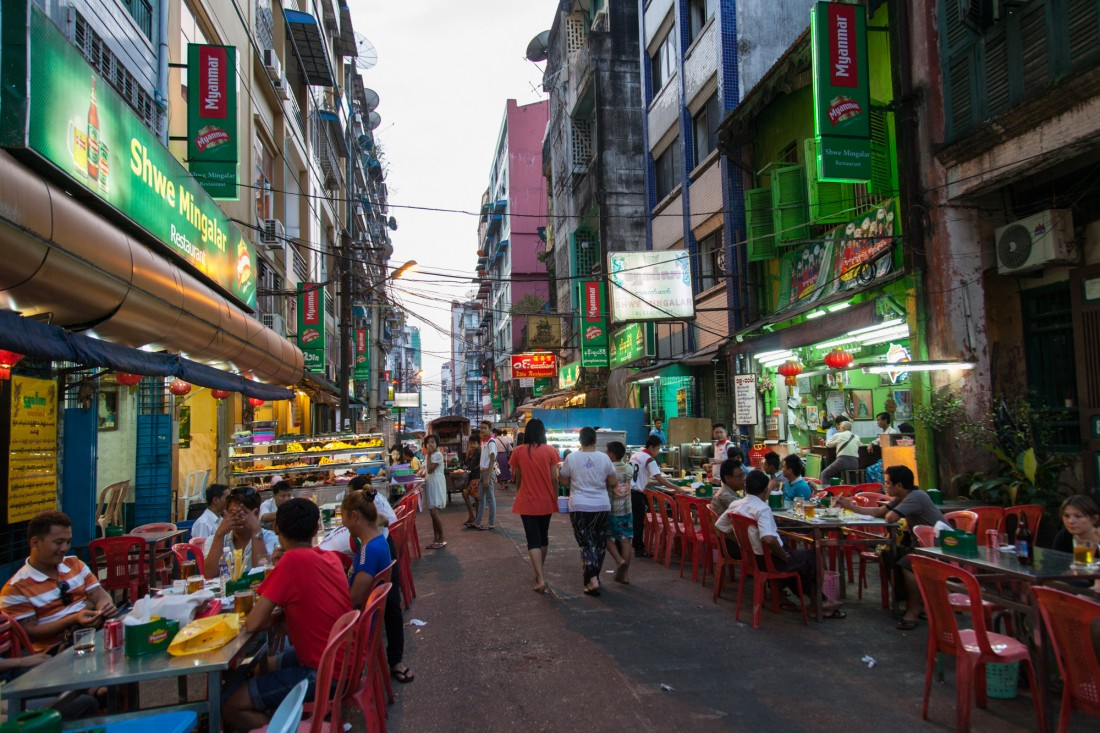 Yangon Chinatown
