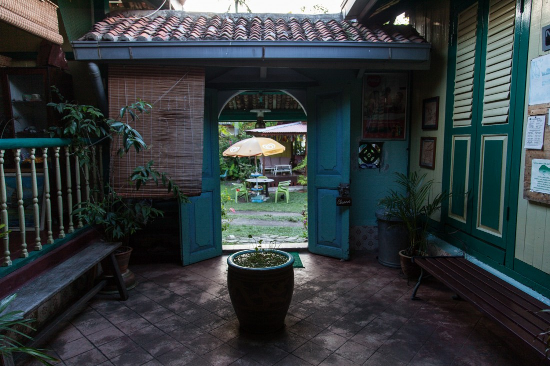 Aba Kapa - Unser Guesthouse in Melaka in einem über 100 Jahre a
