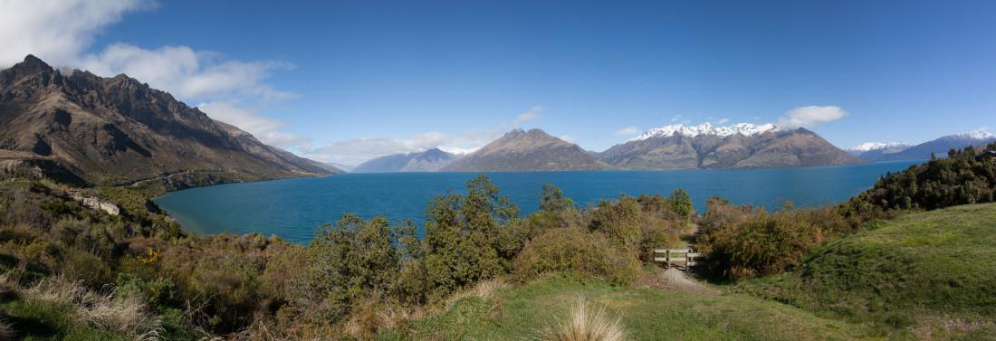 Lake Wakatipu auf der Rückfahrt