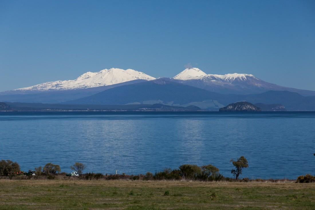 Noch liegt der Mt Ngauruhoe weit entfernt