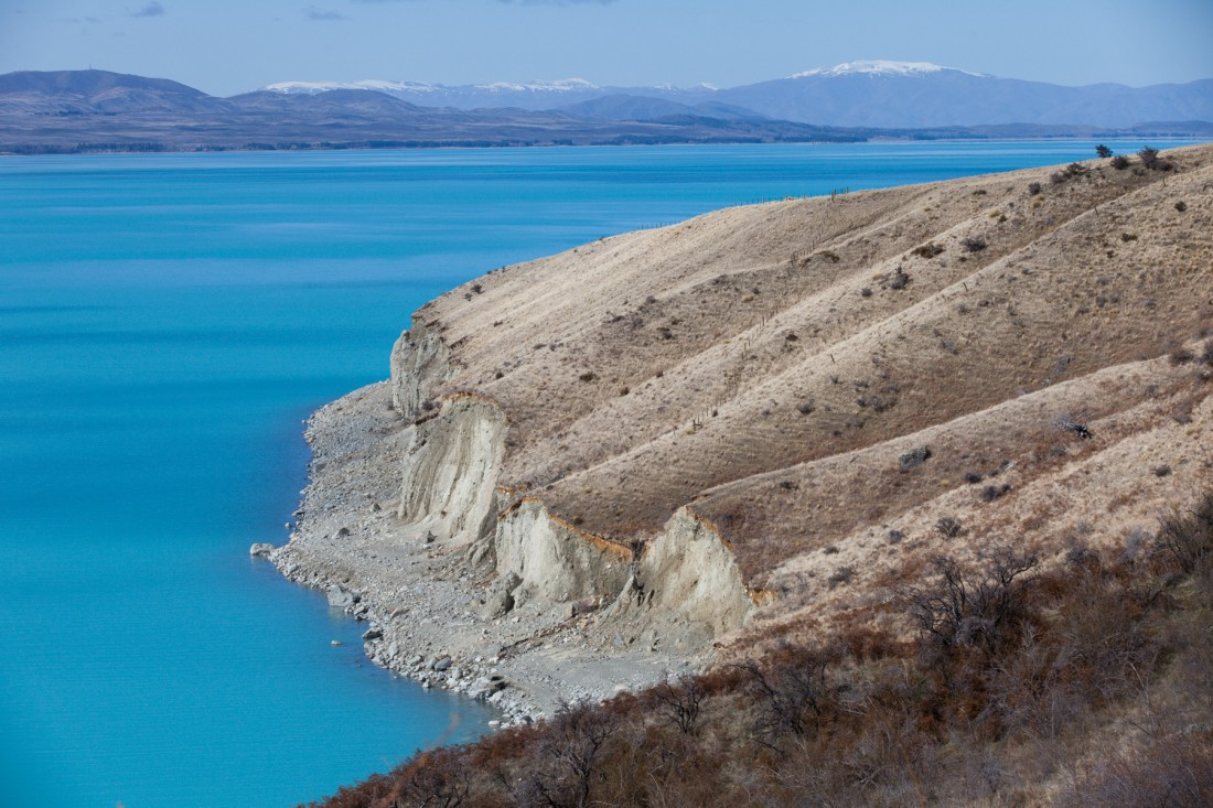 Bucht am Lake Pukaki