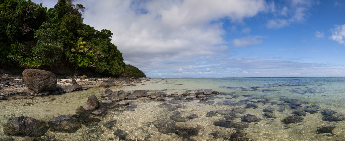 Glasklares Wasser in der Mango Bay
