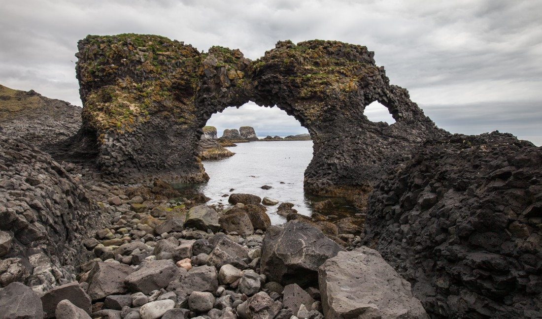 Gatklettur bei Arnarstapi auf der Snæfellsnes-Halbinsel