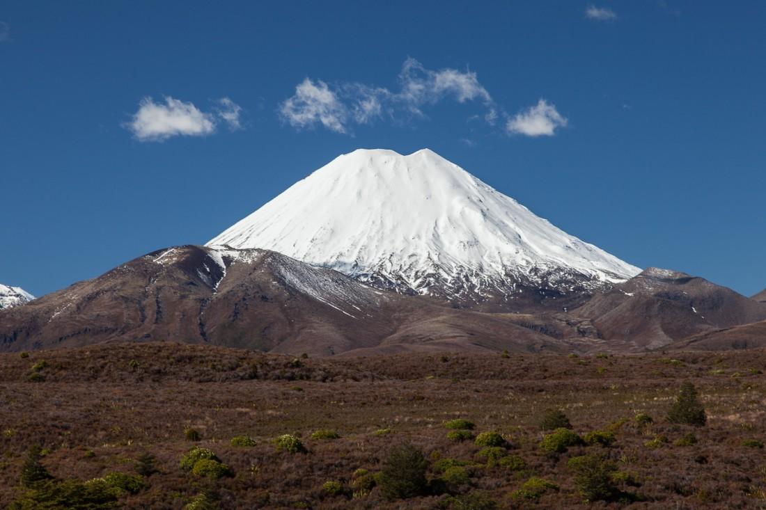 Und schon kurze Zeit später liegt der Schicksalsberg Mt Ngauruh