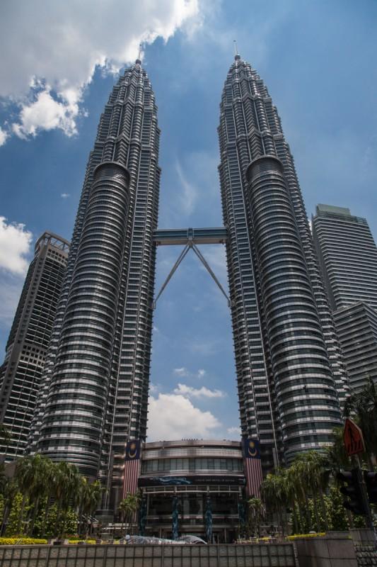 Die Petronas Tower - Ein gigantischer Anblick