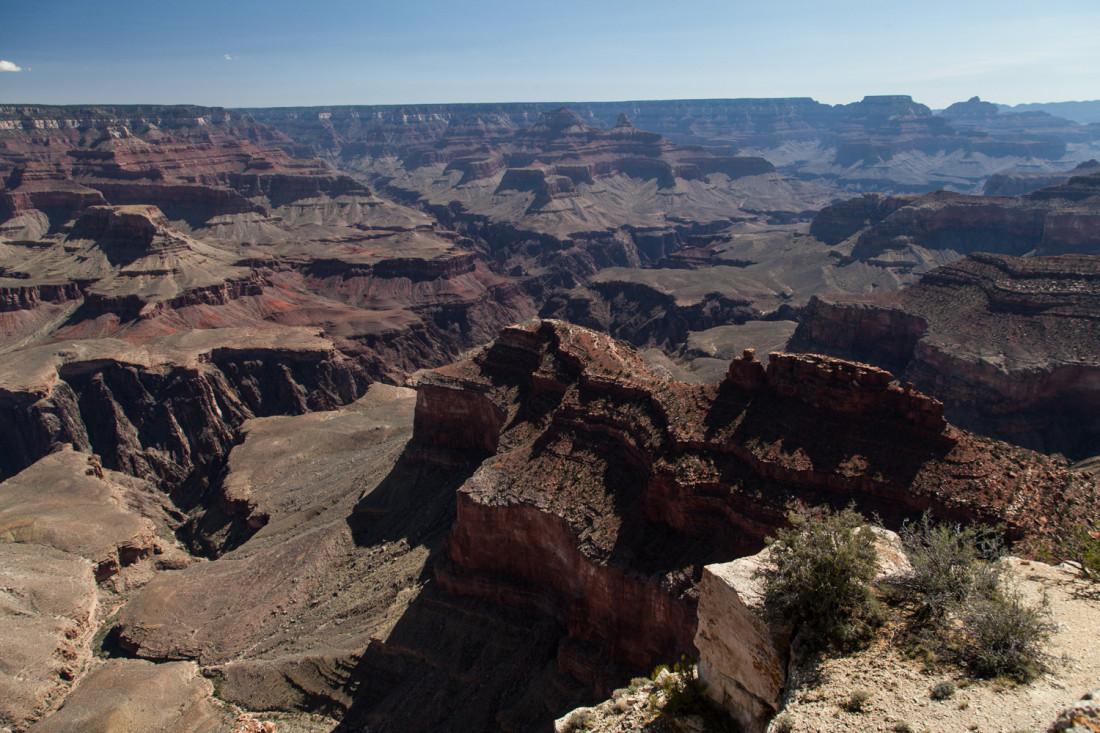 Den Abschluss unserer Canyon-Tour bildete der Grand Canyon National Park.