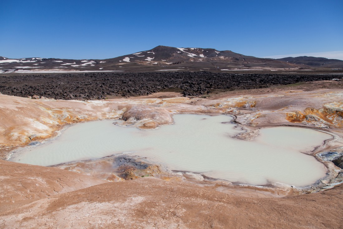 Krafla Vulkangebiet