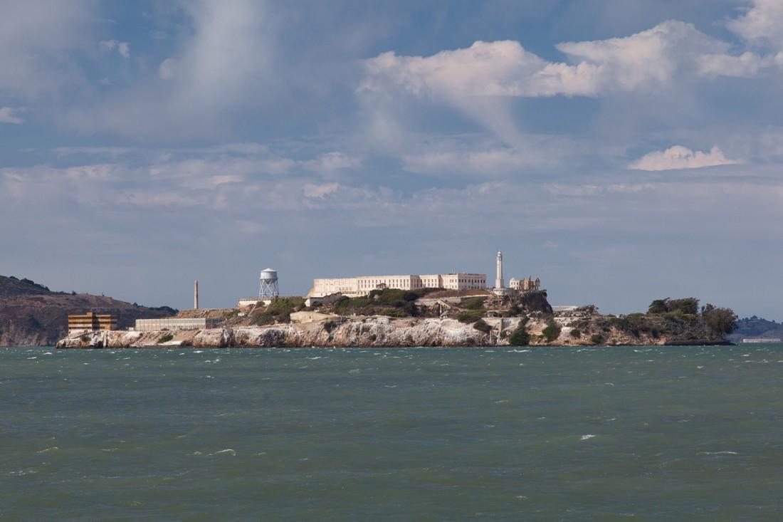Die ehemalige Gefängnisinsel Alcatraz