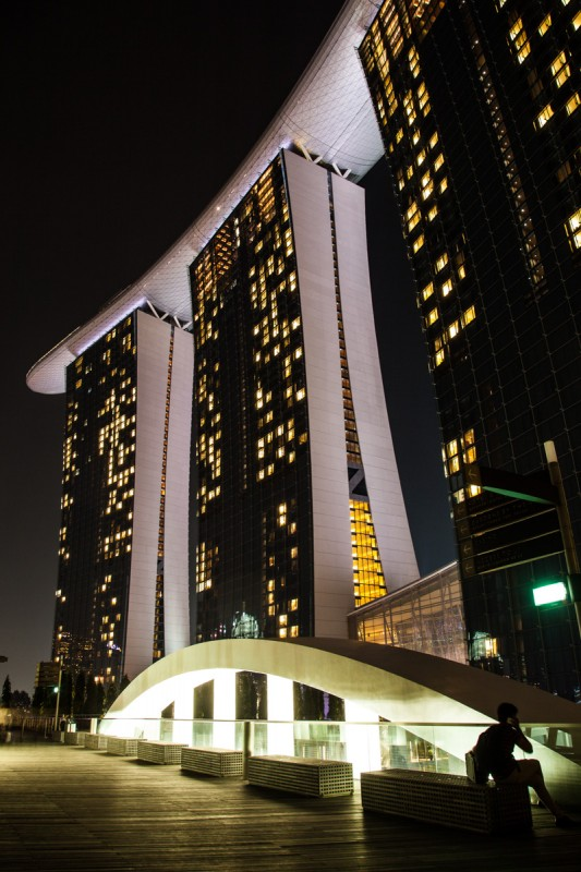 Marina Bay Sands Wohnhochhaus