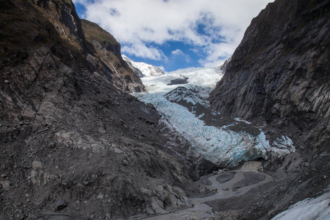 Gletschertor des Franz Josef Gletchers
