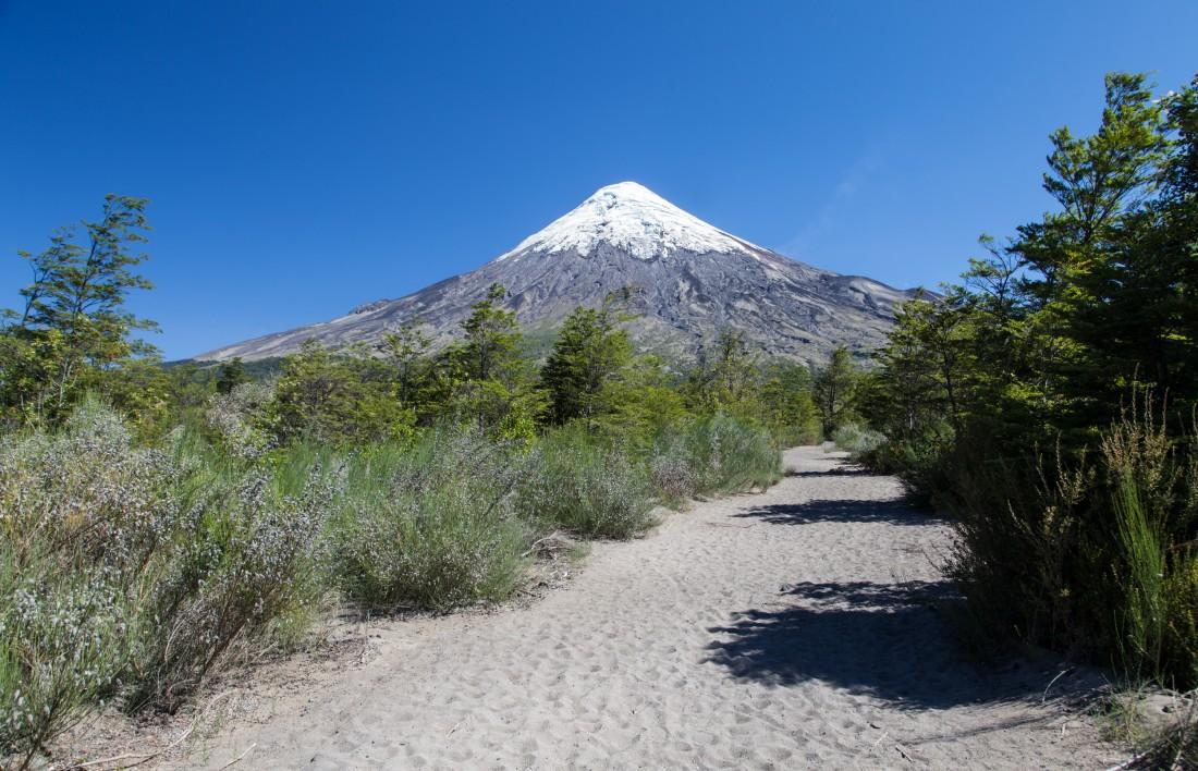 Der Vulkan Orsorno