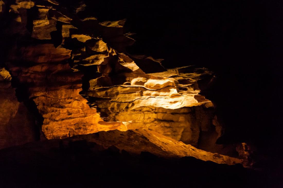 Besichtigung einer der vielen Höhlen rund um Waitomo